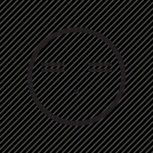 bored, emoji, emoticon, sick, silent, sleepy, tried icon