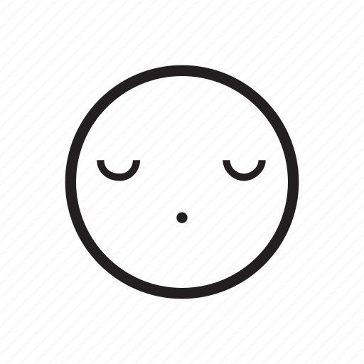 emoji, emoticon, emotion, nap, rest, sleep, sleepy icon