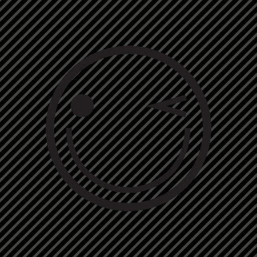 emoji, emoticon, feeling, happy, joyful, smile, smiley icon