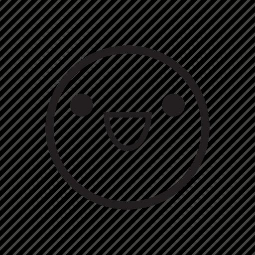 emoji, emoticon, emotion, happy, impression, smile, smiley icon