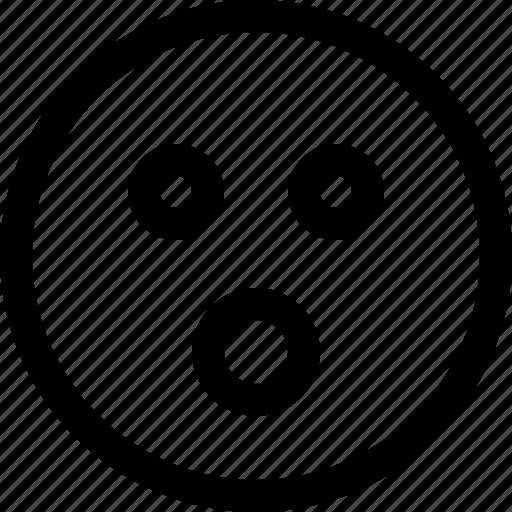 emoji, emotion, feeling, shocked icon