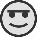 emoji, face, faces, online icon
