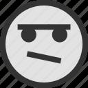 brown, emoji, emojis, face, faces, frida, one icon