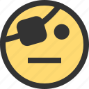 emoji, emojis, face, faces, pirate icon