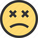 emoji, emojis, face, faces, sad, sadness icon
