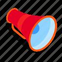 megaphone, marketing, announcement, news