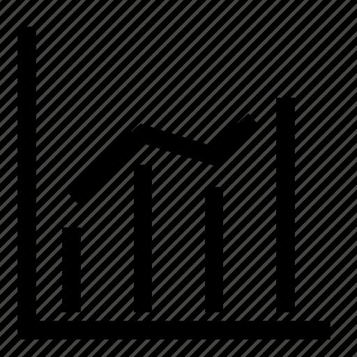 chart, graph, growth, statistics icon
