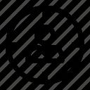 focus, goal, profile, target icon