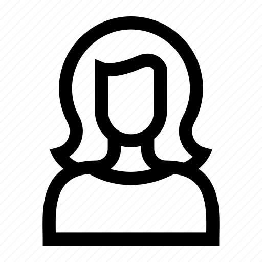 avatar, female, profile, women icon