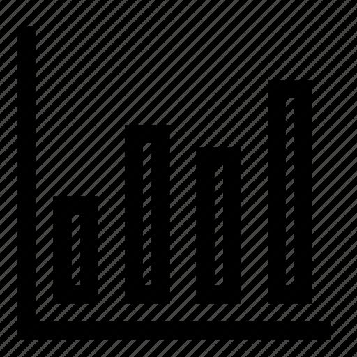 chart, graph, increase, statistics icon