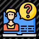 encryption, key, program, algorithm, counsel icon