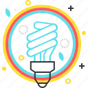 clean, eco, ecology, electric, energy, lamp, light icon
