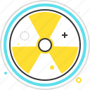 atomic, danger, hazardous, radiation, radioactive, reactor icon