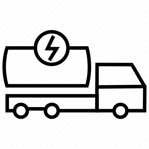 fuel container, fuel tanker, oil container, tanker, transportation icon