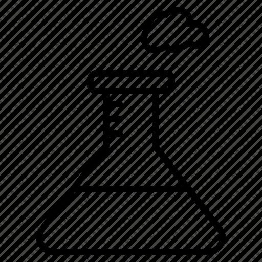 beaker, chemical, chemical energy, flask, laboratory, test icon