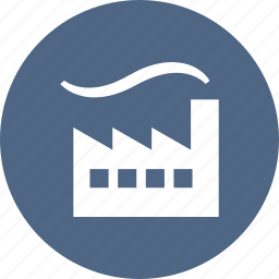 building, factory, industrial, industry, plant, power icon