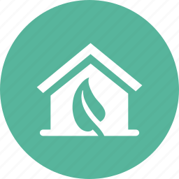 eco, ecology, environment, green, home, house icon