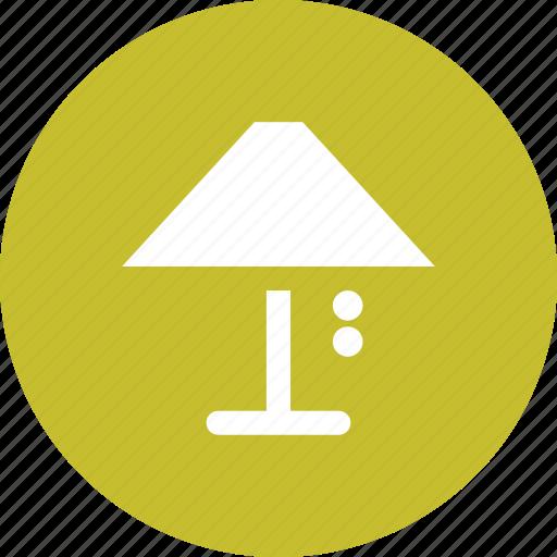 desk, lamp, light, lighting, table lamp icon