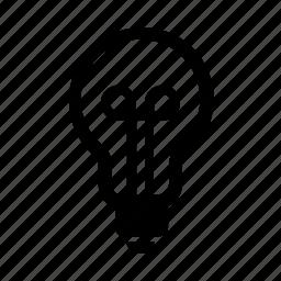 bulb, energy, light icon