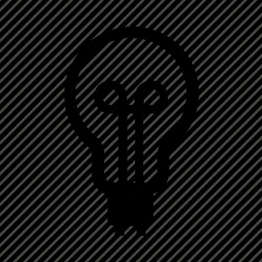 bayonet, bulb, energy, light icon