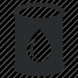 drum, energy, oil icon