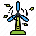 ecology, environment, eolic, windmill icon