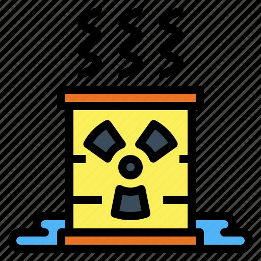 energy, nuclear, power, radiation, radioactive icon