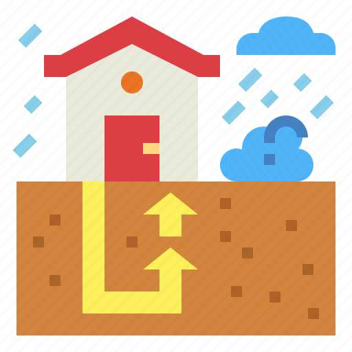 ecological, energy, environment, geothermal icon