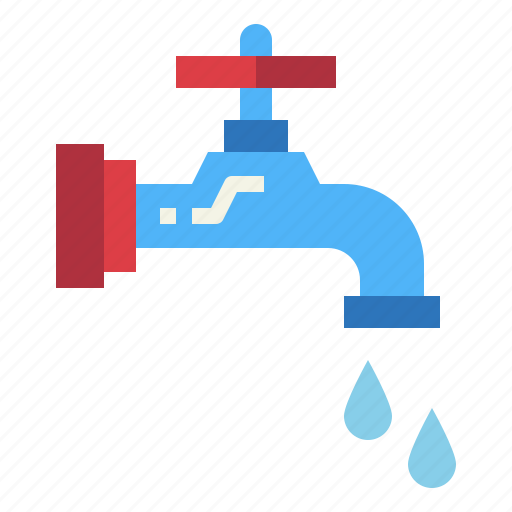 drop, faucet, sink, water icon