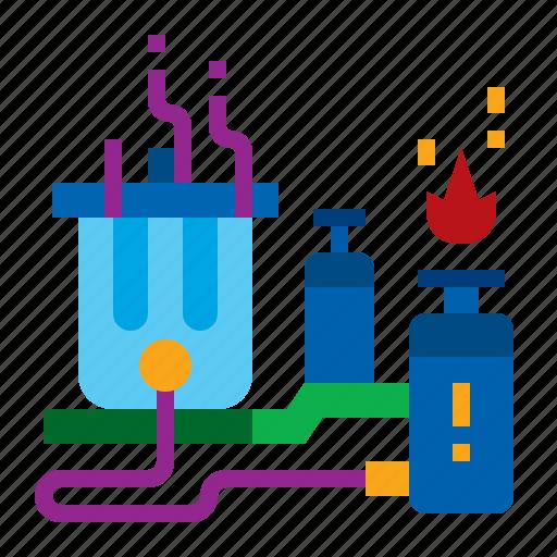 energy, garbage, gas, power, trash icon