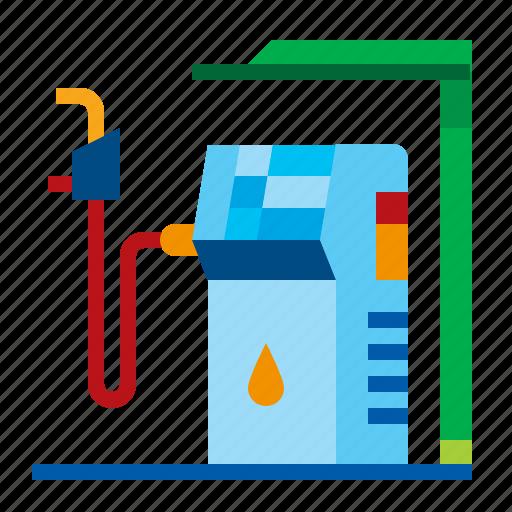 energy, oil, petrol, pump, station icon