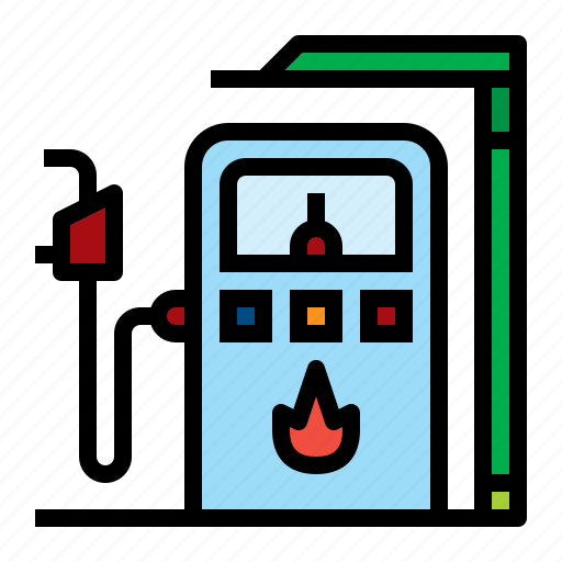 energy, gas, pump, station icon