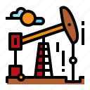 energy, field, oil, pump icon