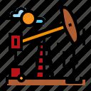 energy, field, oil, pump