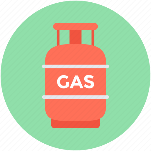 appliance, gas container, gas cylinder, gas tank, kitchen cylinder icon