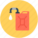 fuel can, gas can, gas container, gasoline can, jerry can