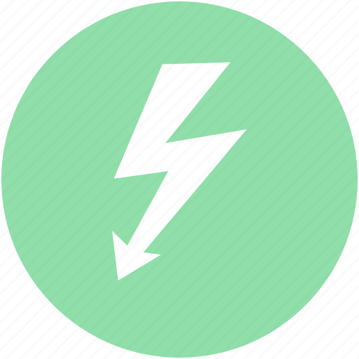 bolt, flashlight, lightning, power, thunder icon