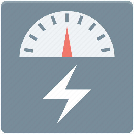 analog device, electricity, gauge, gauge meter, speedometer icon