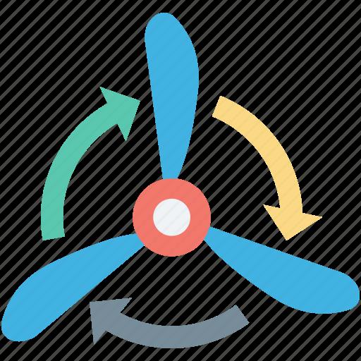 fanjet, turbine fan, wind energy, wind power, windmill icon
