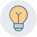 bulb, bulb light, electric, energy, lamp, light, power icon