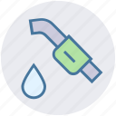 fuel, fuel nozzle, gasoline, nozzle, petrol station, pipe, pump nozzle icon
