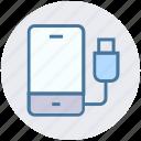 mobile, mobile charging, mobile power, phone, plug, power plug