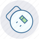 electronics, extension cable, extension cord, extension lead, power extension, power supply icon