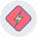 bolt, energy, flashlight, lightning, power, thunder icon