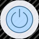 off, on, on off switch, power, restart, shutdown, switch icon