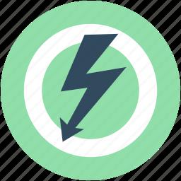 danger, electricity risk, high voltage, voltage warning, warning sign icon
