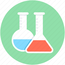 chemical, conical flask, flask, lab research, laboratory icon