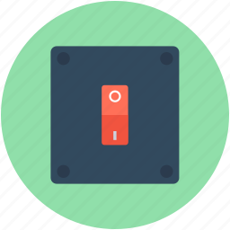 off, on, on off switch, power switch, toggle switch icon
