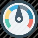 analog device, gauge, gauge meter, pressure gauge, speedometer icon