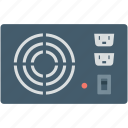 electricity, power, power control, power device, stabilizer icon